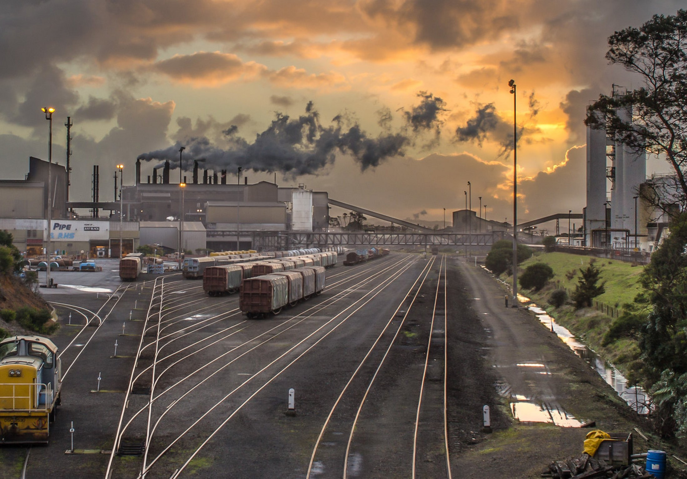 Glenbrook Steel Mill, near Auckland NZ